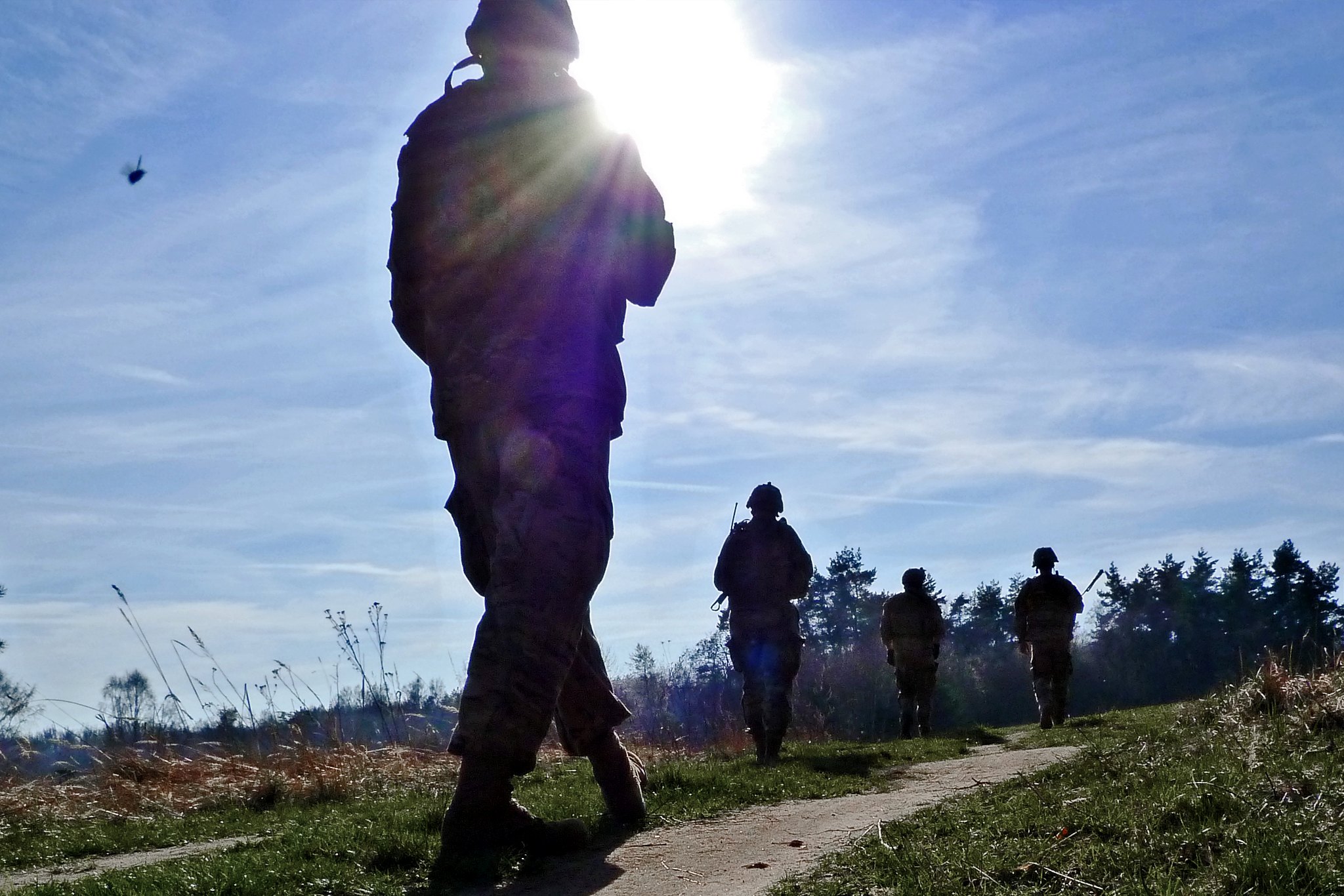 """Přesun jednotky do """"area of operation"""" v rámci bojové akce"""
